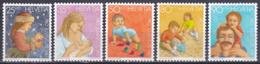 Schweiz Switzerland Helvetia 1987 Pro Juventute Weihnachten Christmas Kinder Children Entwicklung Familie, Mi. 1359-3 ** - Schweiz