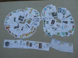 FRANCE  74 Enveloppes FDC  Année 2007 Très Bel état - FDC