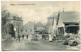 CPA - Carte Postale - Belgique - Libin - Les Environs De La Gare - 1922 (D10201) - Libin
