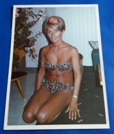 Vintage SEXY PIN-UP GIRL Photo - Hübsche Frau Im Bikini, Jolie Femme Erotique, Pretty Woman, Amateur Model [19-1971] - Pin-Ups