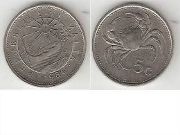 Malta 5 Cents 1986  Km 77  Unc !!!! - Malta