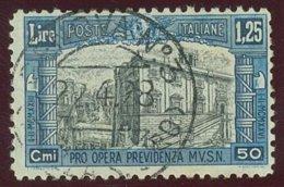 ITALIA REGNO VITTORIO EMANUELE III SASS. 222  USATO - Usados
