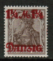 DANZIG  Scott # 26** VF MINT NH (Stamp Scan # 543) - Danzig