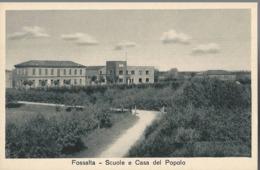 Fossalta - Scuole E Casa Del Popolo - HP1883 - Ferrara