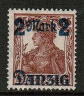 DANZIG  Scott # 27** VF MINT NH (Stamp Scan # 543) - Danzig