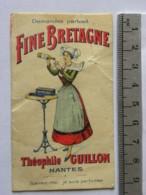Carte Parfumée - Théophile Guillon NANTES - Fine Bretagne - Perfume Cards