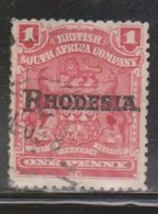 RHODESIA Scott # 83 Used - With Rhodesia Overprint - Great Britain (former Colonies & Protectorates)