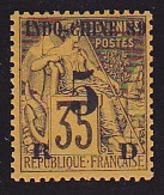 Indochine N° 2 Neuf * - Voir Verso & Descriptif - - Indochina (1889-1945)