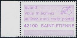 VIGNETTE CODE-POSTAL  -  42100  SAINT-ETIENNE - Zipcode