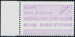 VIGNETTE CODE-POSTAL  -  42100  SAINT-ETIENNE - Postleitzahl