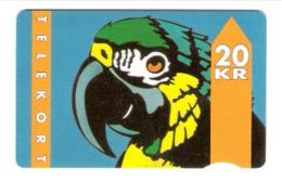 Dänemark - Danmark - Denmark - JD-07E  01.93 Parrot  - Papagei - Type 1 SN:2000 - 534156 , 31.12.94 - Danimarca