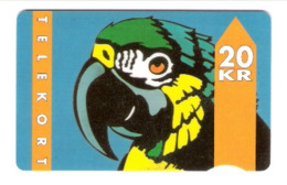 Dänemark - Danmark - Denmark - JD-07E  01.93 Parrot  - Papagei - Type 1 SN:2000 - 534156 , 31.12.94 - Denemarken