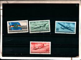 7161B) Germania Ddr-lotto Di Francobolli- MNH** N. 242-45 Creazione Della Compagnia Aerea - [6] Oost-Duitsland