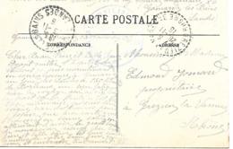 40-cachet Hôpital Aux N°76 De Gamarde-les-Bains Sur Belle CP De 1915 - Marcophilie (Lettres)