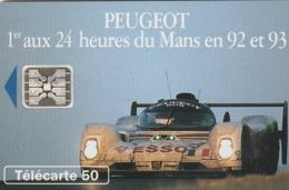 FRANCIA. Peugeot 905 4 - 1 Voiture. 50U. 0399.2. 07/93. (210). - Sport