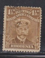 RHODESIA Scott # 121 Used - KGV - Great Britain (former Colonies & Protectorates)