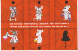 Kunstler Illustrator Illustrateur - Comics Humour - Rats Lab Rat Maze, Unused (ask For Verso) - Comics