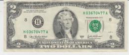 United States Of America - 2 Dollars 2003 A - Jefferson - Medium Shape, Used - Andere