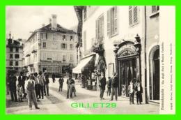 DOMODOSSOLA, ITALIA - VIA DEGLI OSCI E PIAZZA CASTELLO - ESCLUS. LUIGI GRISOMI - WELL ANIMATED - - Verbania