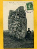 41TR9 - Tripleville - Monument Mégalithique - Menhir Dit La Drue De Gargantua - France