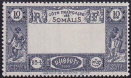 Cote Somalis N° 168a Neuf ** Signé ROUMET- Voir Verso & Desvripitif - French Somali Coast (1894-1967)