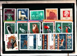 7162B) Germania Ddr-lotto Di Francobolli- MNH** - [6] Oost-Duitsland