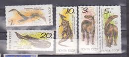 FAUNA, ANIMALS, URSS 1990  SET MNH - Sellos