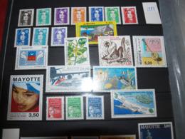 Mayotte Pays Complet (sauf Erreur) 1997 à 2011 Neuf Sans Charnière - Unused Stamps