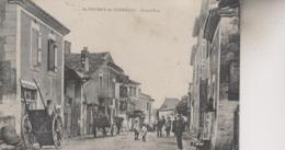SAINT VINCENT  DE CONNEZAC   GRAND RUE - Francia