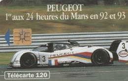 FRANCIA. Peugeot 905 5 - Voiture De Profil. 120U. 07/93. 0402. (209). - Sport