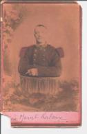 Marcel Lalaux. Photo O. Moreau Valenciennes. 127 ème Régiment D'Infanterie. - Oorlog, Militair