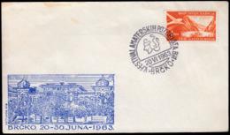 Yugoslavia Bosnia And Herzegovina Brcko 1963 / 5th Festival Of Amateur Theater - Theatre