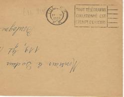 LILLE RP FLIER 1939 DREYFUSS (LIL259P) 1994 Côte 220F Tout Télégramme Collationné Esr Exempt D'erreur DEVANT SEUL - Oblitérations Mécaniques (flammes)
