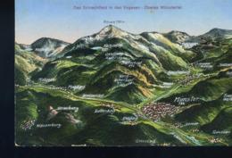 Schlachtfeld Oberes  Munstertal  Vers 1915 - Munster