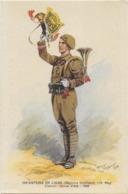 Infanterie De Ligne - Clairon - Tenue D'été -  Signée - Uniformi