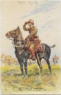 Artillerie De Campagne -officier-  Signée - Uniformi