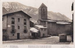 CARTOLINA - REPùBLICA D' ANDORRA - ANDORRA LA VELLA - PLACA ER. BENLLOCH - Andorra