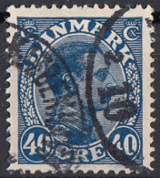 Danimarca 1922 Sc. 118 King Christian X Used Danmark - 1913-47 (Christian X)