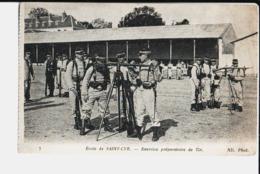 7. Ecole De Saint Cyr. Exercice Préparatoire De Tir. De Jean Nass. Evoque Joseph. - St. Cyr L'Ecole