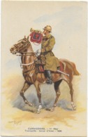 Cuirassiers - Trompette , Tenue D'hiver - 1938  Signée - Uniformi