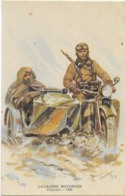 Cavalerie Motorisée - Fusiliers - 1938  Signée - Uniformi