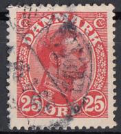 Danimarca 1922 Sc. 108 King Christian X Used Danmark - 1913-47 (Christian X)