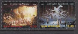 2013 San Marino Operas Music Complete  Set Of 2 MNH  @ BELOW FACE VALUE - San Marino