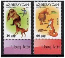 Azerbaijan 2010 . EUROPA 2010 (Children Books). 2v: 20, 60.   Michel # 791-92 - Azerbeidzjan