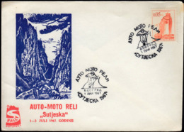 Yugoslavia Belgrade 1967 / Auto - Moto Reli Sutjeska / Rally, Cars, Motorbikes - Motorbikes