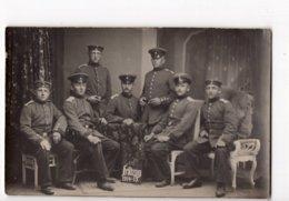 201 -  MILITARIA - FELDZUG 1914 - 15 - Groupe De Soldats Allemands *Atelier Bruère, Diedenholen - THIONVILLE* - Humour