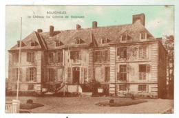 BOURGHELLES Près Cysoing -  Le Château - Clonie De Vacances - Circulée 1950 - France