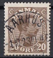 Danimarca 1921 Sc. 104 King Christian X Used Danmark - 1913-47 (Christian X)