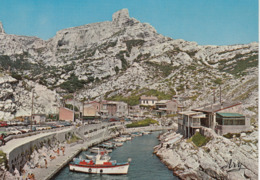 MARSEILLE: Le Port De Callelongue - Quartiers Sud, Mazargues, Bonneveine, Pointe Rouge, Calanques