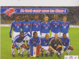 Football  Cp Equipe De France Sponsor Candia  2004 - Soccer